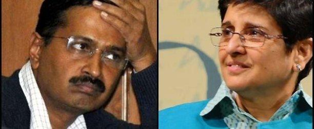 Who will be CM of Delhi 2015? Kiran or Kejriwal ?