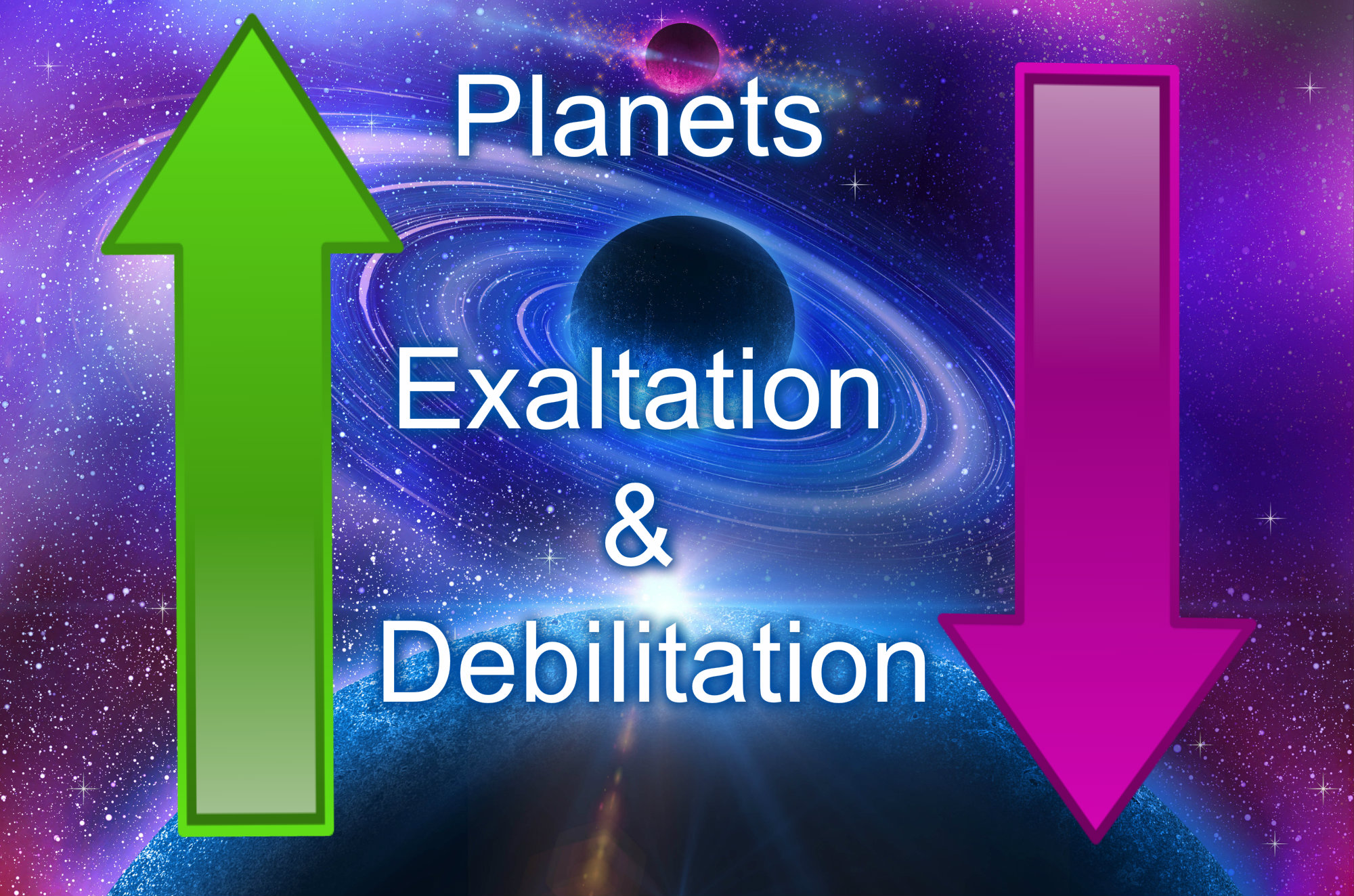 Exaltation and Debilitation of Planets : Astrophysical and