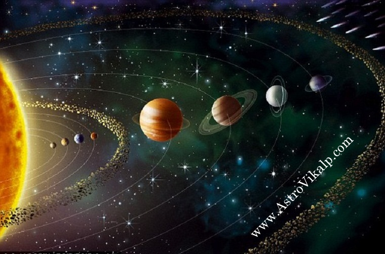 Moon And Earth And Sun And Mars Why jupiter, saturn and mars have ...