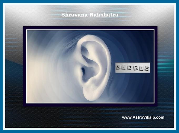 Nakshatra/Star-22  Shravana (10°00' – 23°20' Capricorn